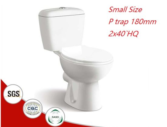 628 Economic Ceramic Washdown Two Piece Toilet Set Sanitary Ware
