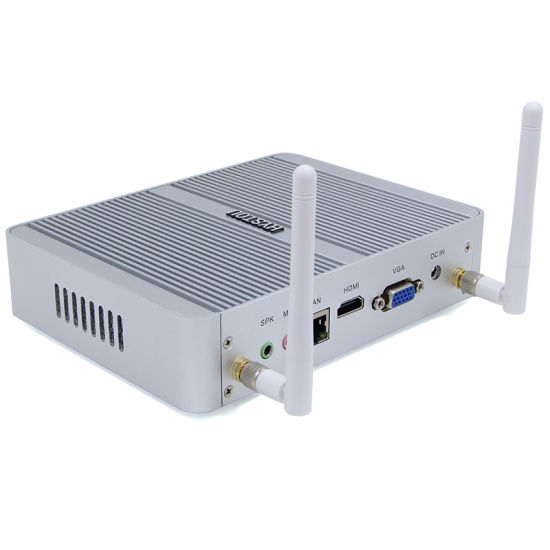 Smaill Size Intel 5th Core I3 5005u Latest Fanless Mini PC pictures & photos