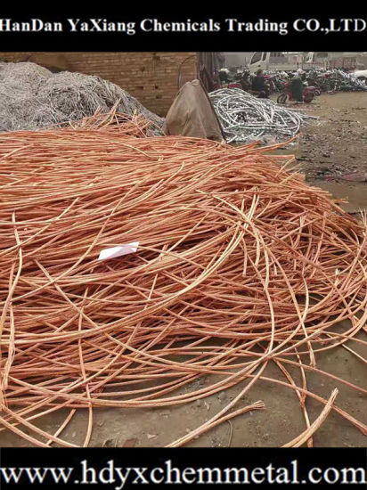Copper Wire Scraps 99.99% Copperscrap Without Rubber for Sale