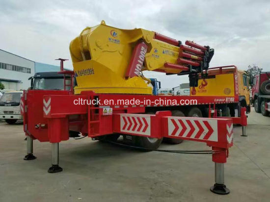 Clw Group 8X4 120 Tons Crane Truck with Heavy Crane pictures & photos