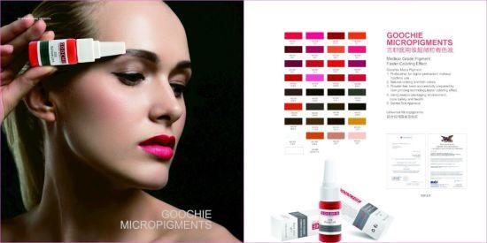 Goochie Best Tattoo Ink Cosmetic Tattoo Pure Organic Permanent Makeup Pigment