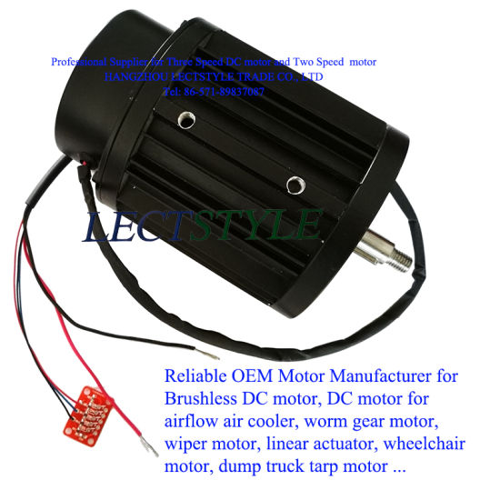 Brushless DC Frequency Variable Adjustable Speed Motor & Cooling Exhaust Motor pictures & photos