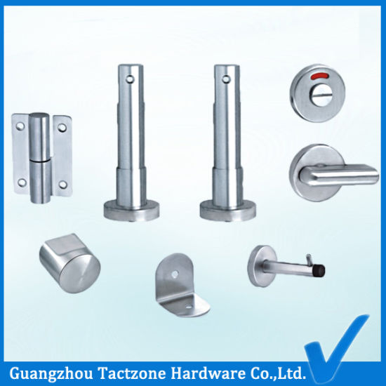 Top Quality Hardware 304 Ss Bathroom Cubicle Partition Accessories