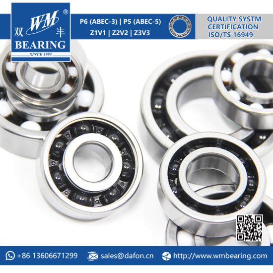 6204 High Temperature High Speed Hybrid Ceramic Ball Bearing pictures & photos