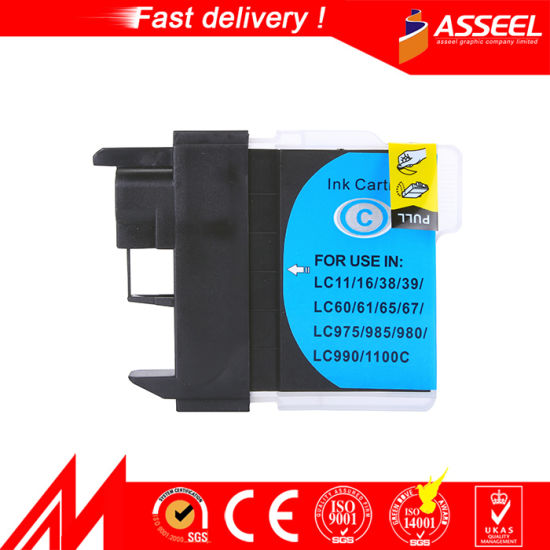 Compatible Ink Cartridge LC11/16/38/39/61/65/67/980/990/1100 for Brother pictures & photos