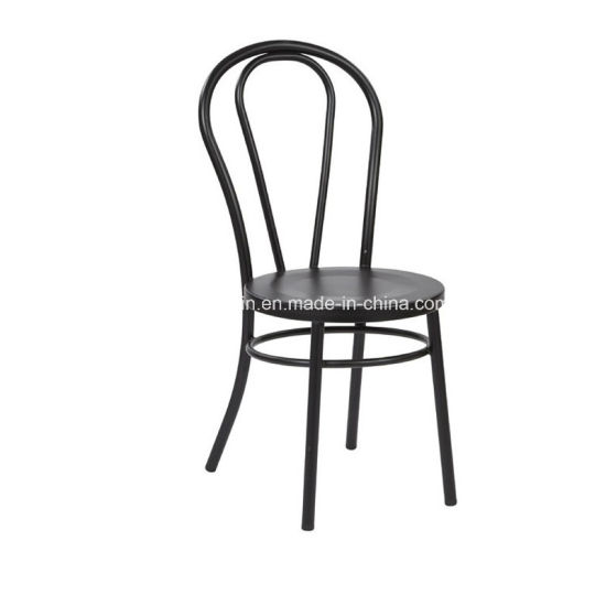Metal Thonet Restaurant Cafe Dining Chair With Backrest (JY R28)