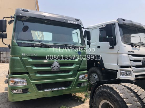 Widely Used Original Condition 371HP 12 Wheels 30 Ton 6X4 Sinotruck HOWO Used Tractor Truck for Transporting