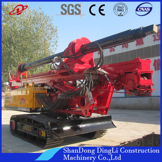 Full Hydraulic Borehole Drill Rig Equipment for Pile Drilling /Highway  Construction/Piling Foundation Project