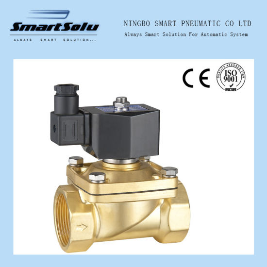 2-Way Semi Direct Acting High Quality Normally Closed Solenoid Valve pictures & photos