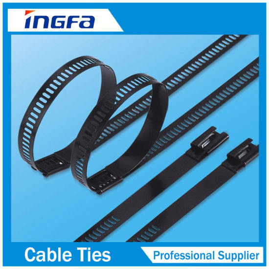 2017 Hot Sales Stainless Steel Ladder Cable Ties 12X225 pictures & photos