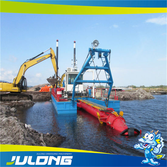 Full Hydraulic Sand Mining Cutter Suction Dredger