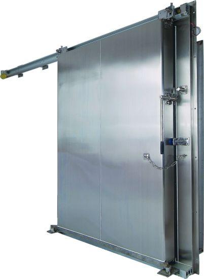 Heavy Duty Sliding Door For Cold Storage