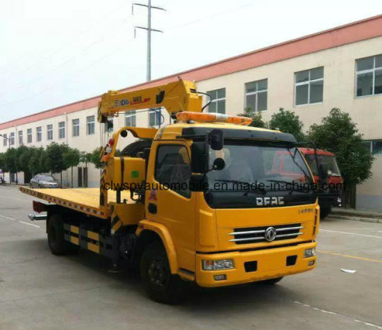 Dongfeng Rhd Wrecker 4*2 4tons Lifting Lorry Truck Price pictures & photos