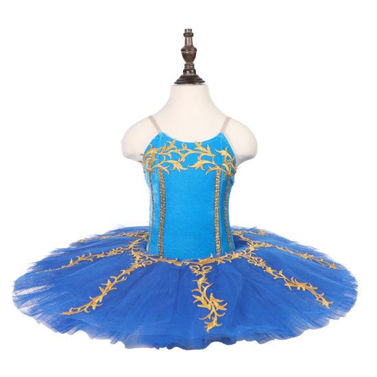 c1fb85a3fee93 New Style Professional Girls Performance Blue Bird Ballet Costumes Blue  Ballet Tutu