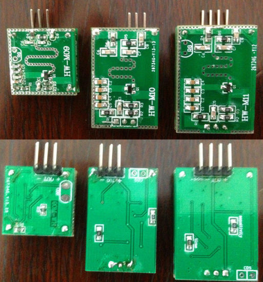 10.525GHz Microwave Doppler Radar Motion Sensor Module with RoHS (HW-M08) pictures & photos