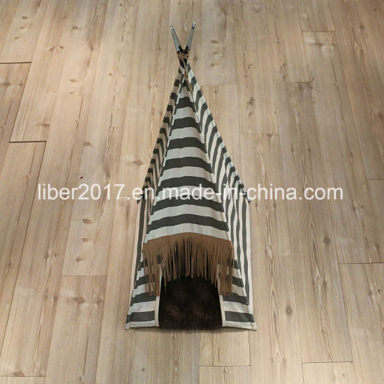 China Pup-Tent Pet Camp Tent Foldable Dog Bed House for Puppy Dog