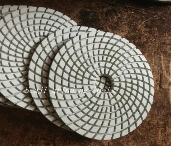 Super Diamond Artificial Stone Concrete Quartz Wet Dry Granite Polishing Pad