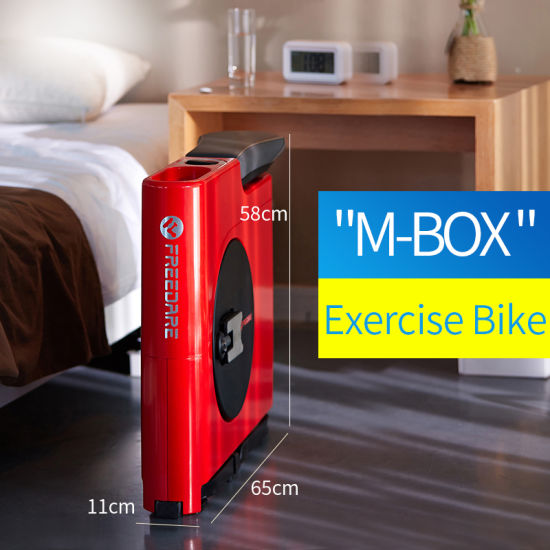 Gym Equipment M-Box Folding Exercise Bike Magnetic Resistance pictures & photos