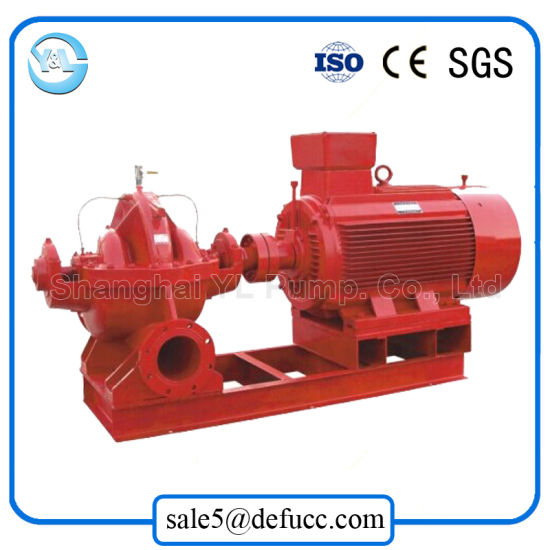 8 Inch Single Machine Double Suction Motor Centrifugal Water Pump pictures & photos