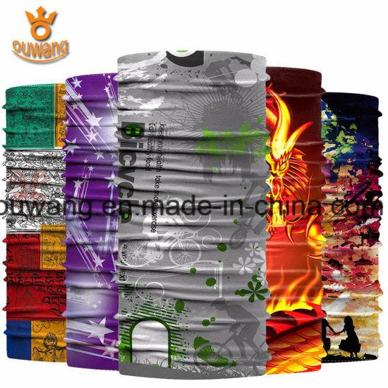 Hot Wholesale Cheap Custom Tube Head Wrap Polyester Multifunctional Bandana