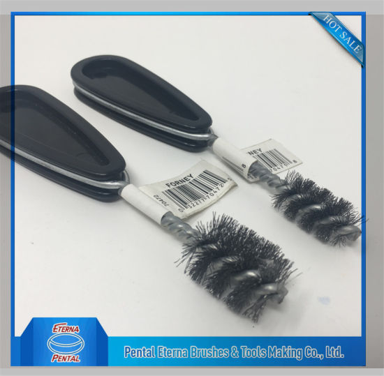 Twist Wire Brush for Cleaning Grill pictures & photos