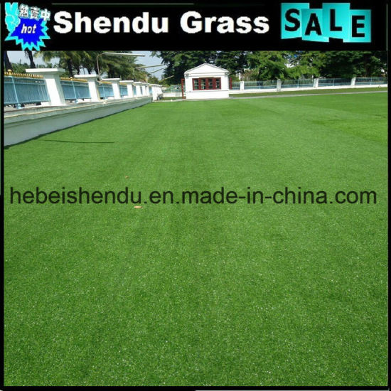 Competitive Price Synthetic Grass Turf 150stitch 25mm pictures & photos