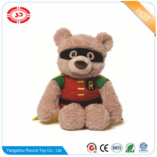 Plush Fluffy Bear Sitting Animal Soft Stuffed Kids Gift Toy pictures & photos