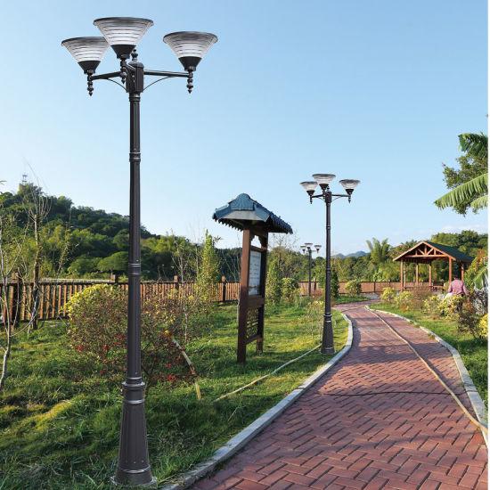 European Style Decoration Pathway Newest Top Quality Aluminum Outdoor Solar Garden Light