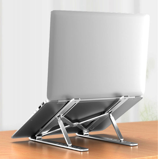 Portable Laptop Stand Aluminium Foldable Support Adjustable Notebook Holder Base for Tablet PC Computer Accessories