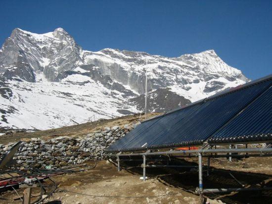 Split Heat Pipe Solar Water Heater