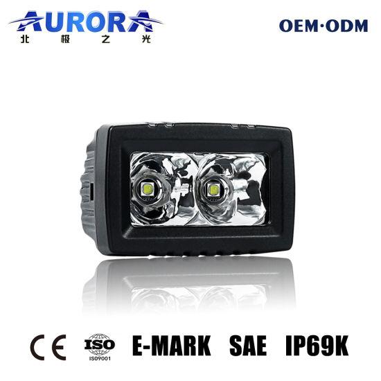 2 Inch E-MARK SAE Approved 12V LED Light Bar Work Light ATV 4X4 Cube Spotlight