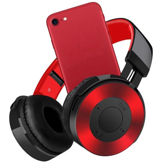 Factory Wholesale Wireless Noise Cancelling Headband Earbud Sports Stereo Headset Foldable Deep Bass OEM Bluetooth Earphones Headphone