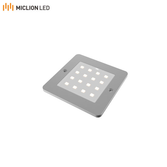 New Ultra Thin Design Under Cabinet Light Square Ultra Thin