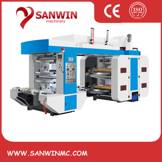 High Speed Stack Type Flexographic Printing Press