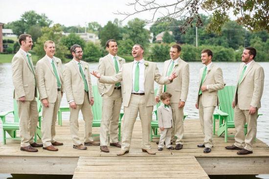 China Beige Men Suits Wedding Evening Wear Formal Suit Tuxedo M1479 ...