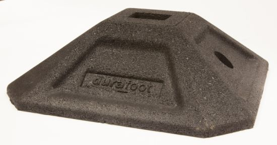 Durafoot 350 (41X41) Square Rubber Support Foot Rooftop Block Base pictures & photos