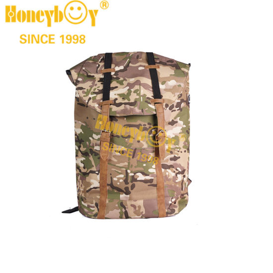 Wholesale New Coming Green Mochile Camouflage Backpack 900d Printed Material for Outdoor College Students Bag
