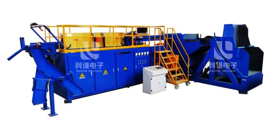 Automatic Intermediate Frequency Induction Heating Diathermy Forging Production Line for Metal Heat Treatment