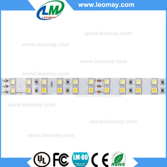 Changeable IP20 SMD5050 36LEDs CCT Adjustable LED Strip Light pictures & photos
