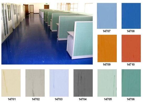 Homogeneous PVC Flooring