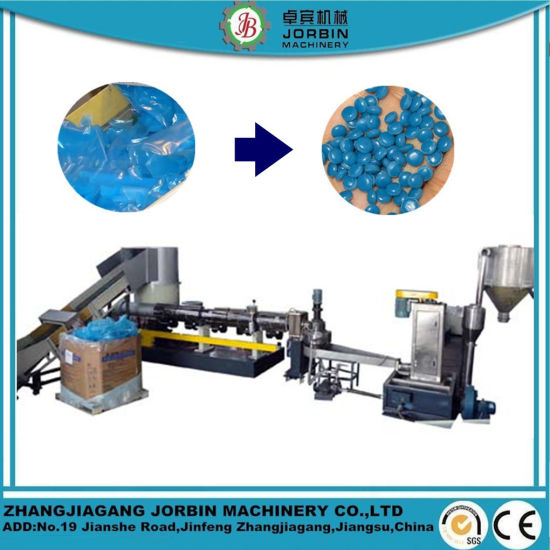 PP Woven Bag PE Agriculatural Film Recycling Pelletizing Line
