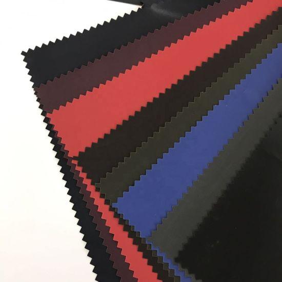 Waterproof Coated Taffeta/ Plain Dyed Coated Taffeta Fabric
