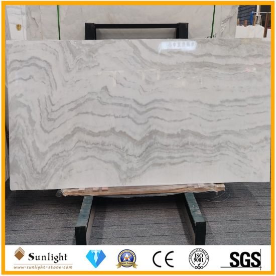 Polished Calacatta Star White Stone Marble Slabs for Flooring/Wall/Kitchen/Bathroom