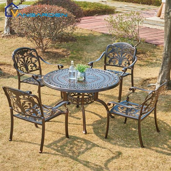 Weatherproof Outdoor Dining Table Set, Outdoor Dining Room Chairs