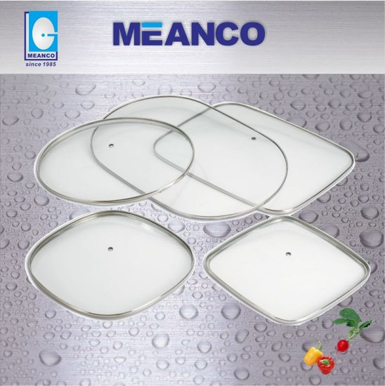 Glass Lid Available for Round & Square & Rectangular and Oval