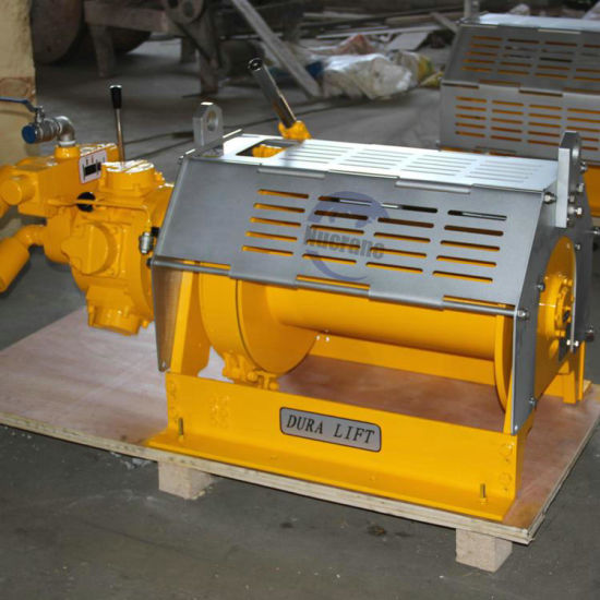 60kn Air Cable Puller Pulling and Lifting Machine Pneumatic Winch for Cable