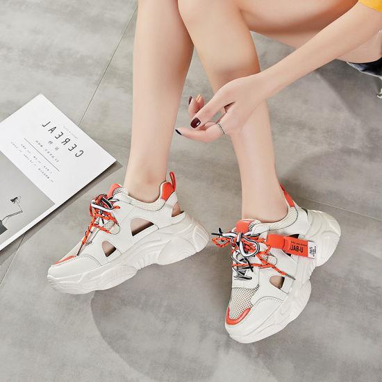 China Chunky Heels Women Shoes