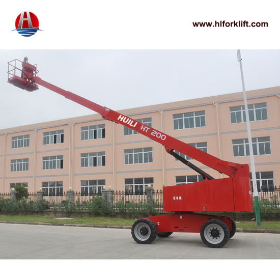 Telescopic Articulating Man Lift Self Propelled Articulating Boom Lift