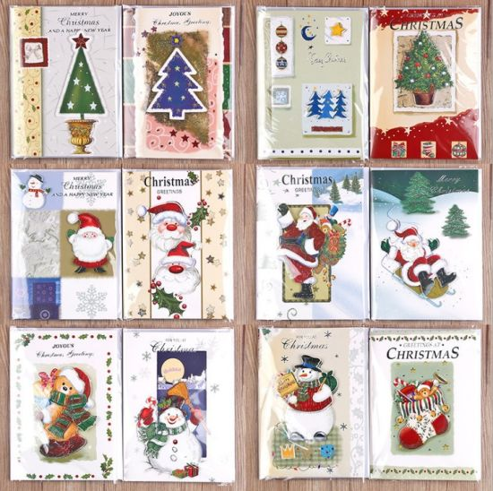 Christmas Music Greeting Card Musical Marry Christmas Greeting Card for Giveaways Gift pictures & photos