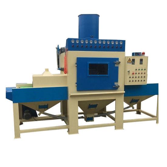 Conveyor Belt Automatic Sand Blasting Machine for Sale